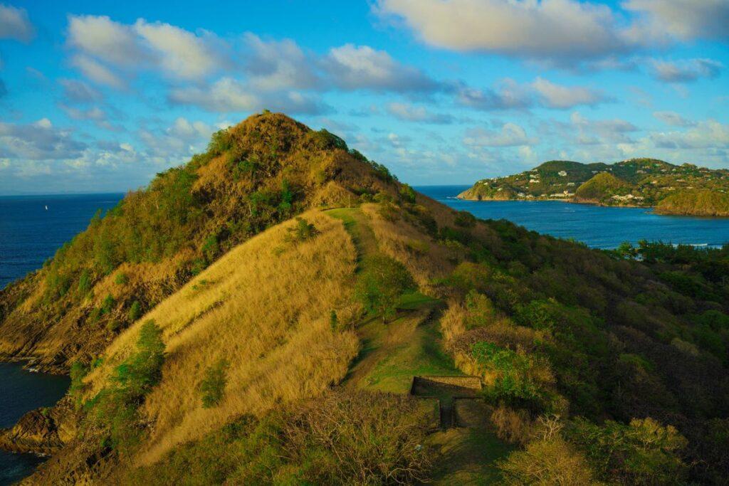 Pigeon Island National Landmark in Saint Lucia.