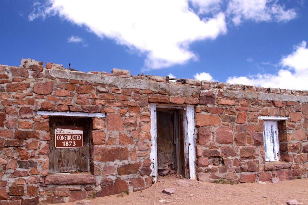 Pikes Peak Summit House in Colorado.