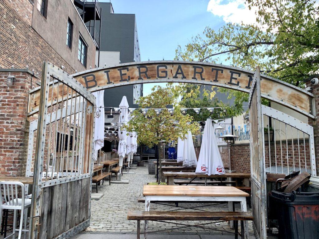 Pilsener Haus and Biergarten in Hoboken.