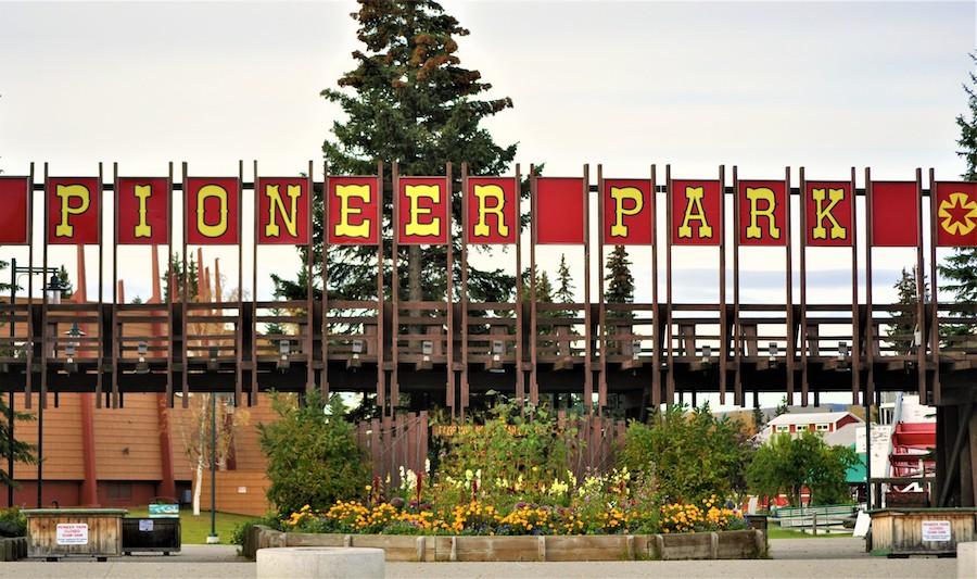 Pioneer Park near Fairbanks, Alaska.