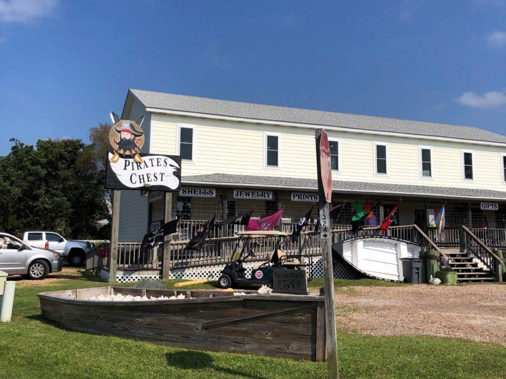 Pirate's Chest Gift Shop, Ocracoke, North Carolina.