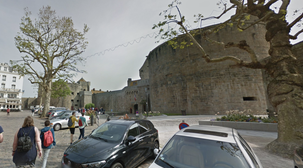 Place Chateaubriand in Saint-Malo.