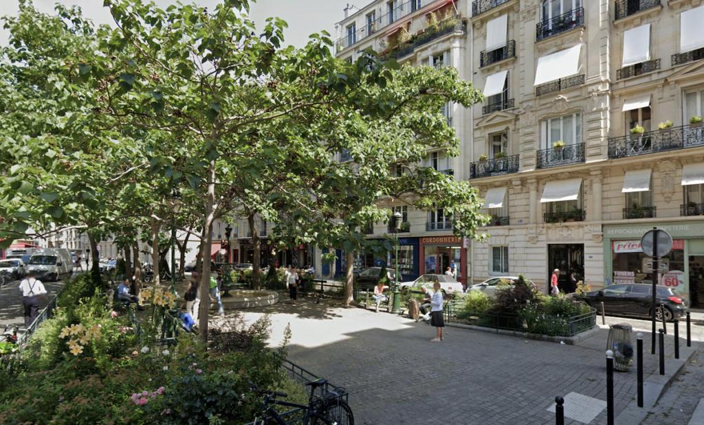 Place de l'Estrapade in Paris, France.