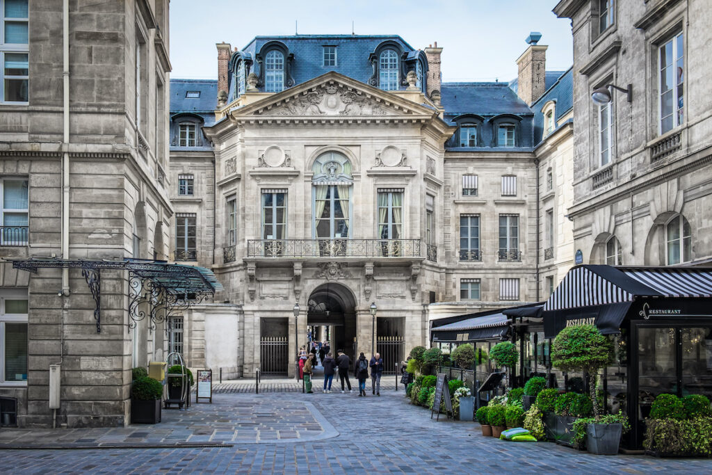 Place de Valois in Paris, France.