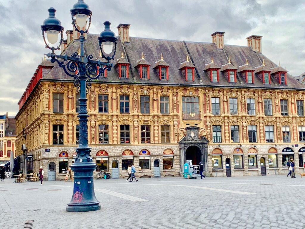 Place du General de Gaulle, Lille, France.