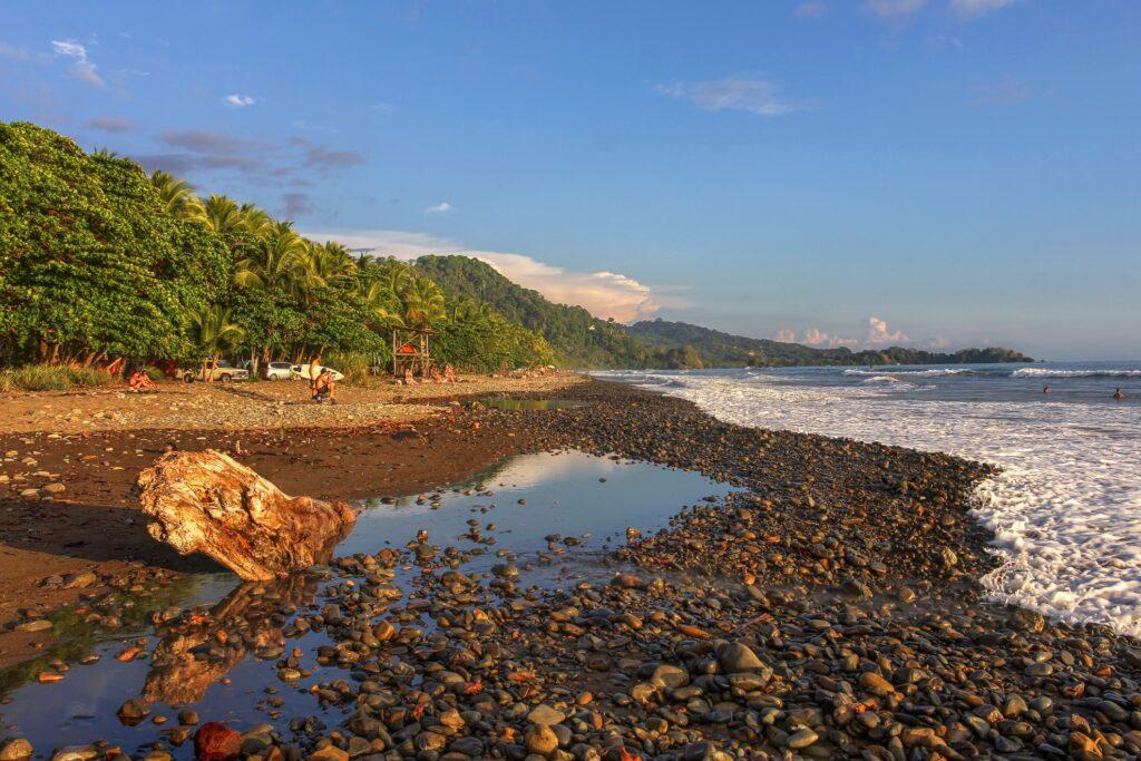 Playa Dominicalito in Costa Rica.