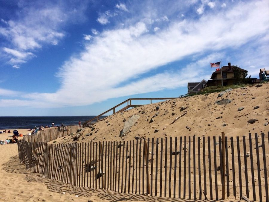 Plum Island Beach in Massachusetts.