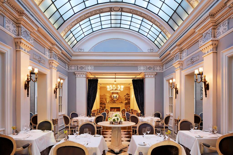 Plume restaurant at The Jefferson in Washington, DC