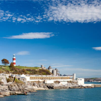 Plymouth Hoe, Plymouth, England.