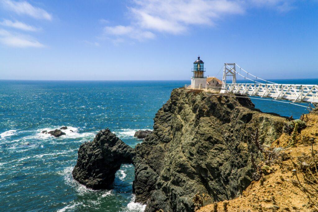Point Bonita Lighthouse in the Marin Headlands.