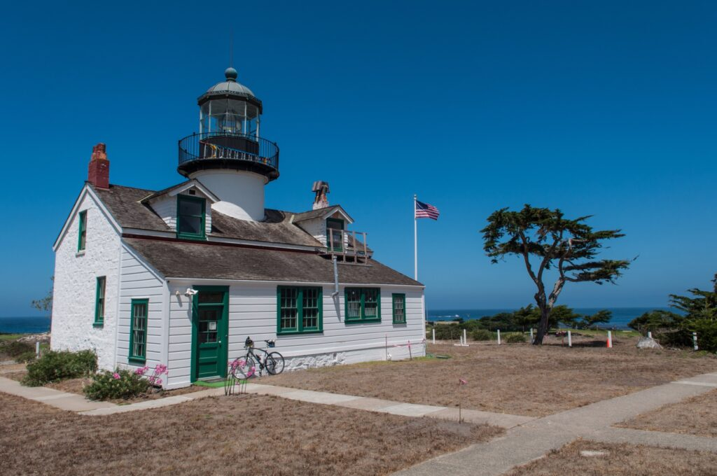 Point Pinos Lighthouse in California.