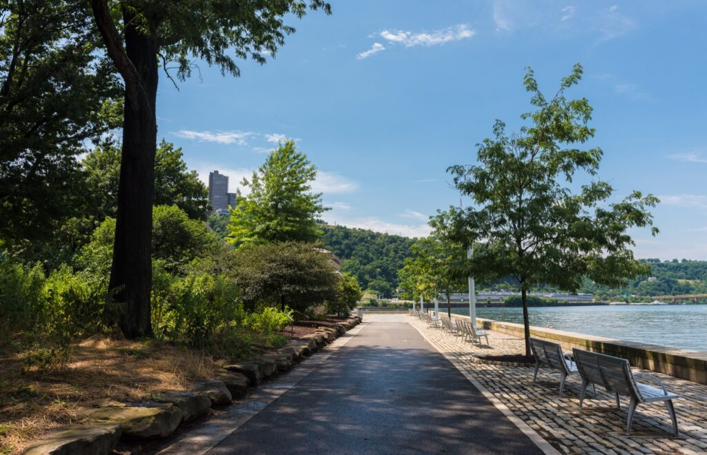 Point State Park in Pittsburgh, Pennsylvania.