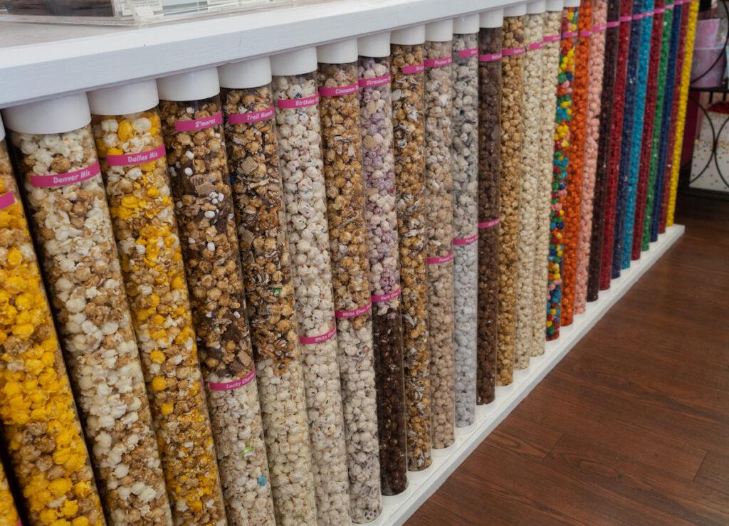 Popcorn from Jordan E's in Waxahachie, Texas.