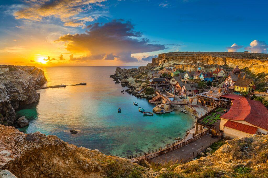 Popeye Village in Malta.
