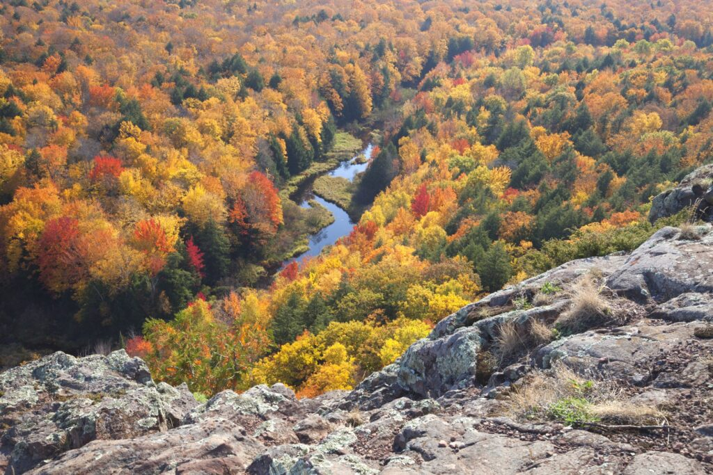 Porcupine Mountains State Park in Michigan.