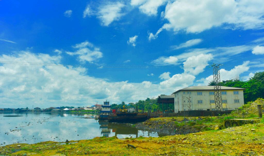 Port Harcourt in Nigeria.
