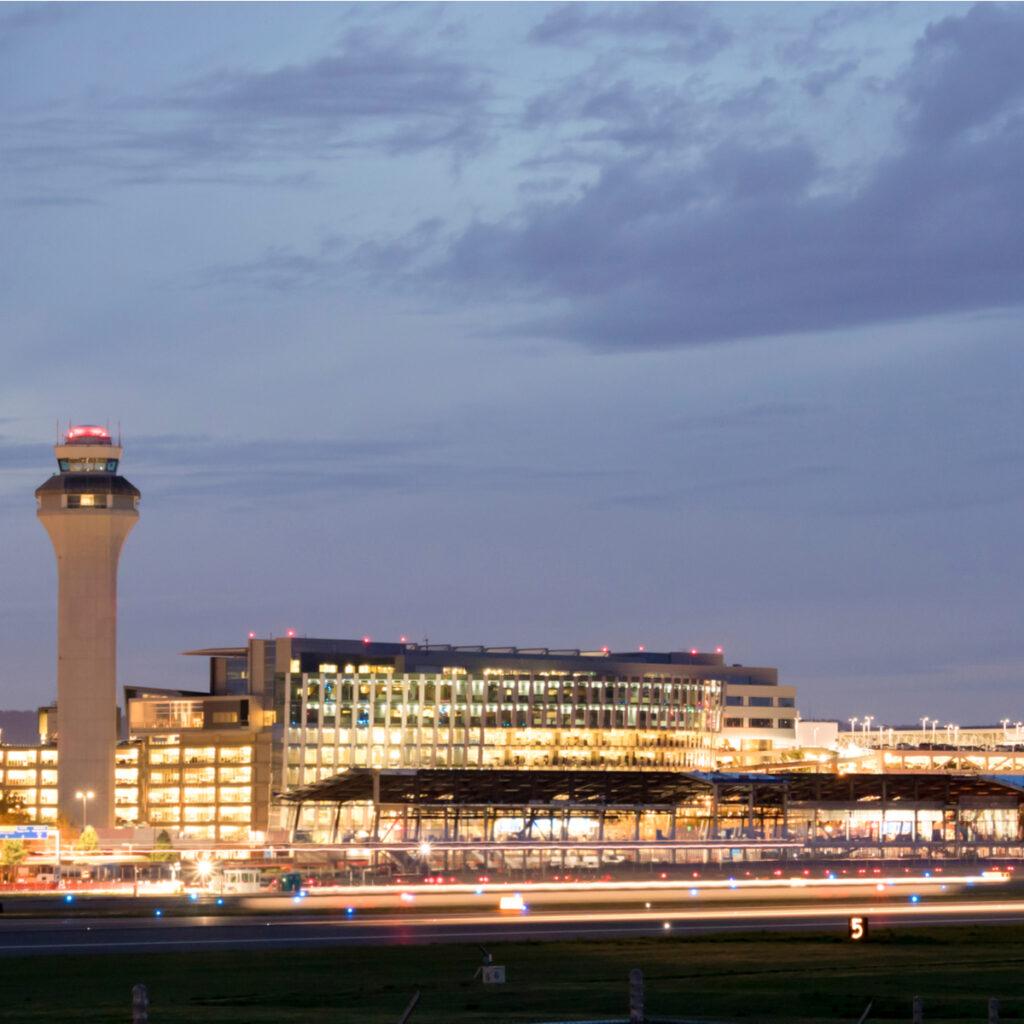 Portland International Airport.