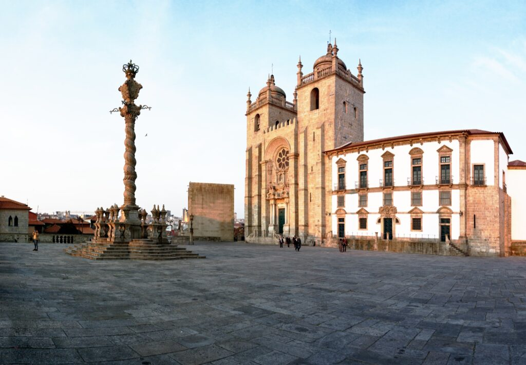 Porto Cathedral in Portugal.
