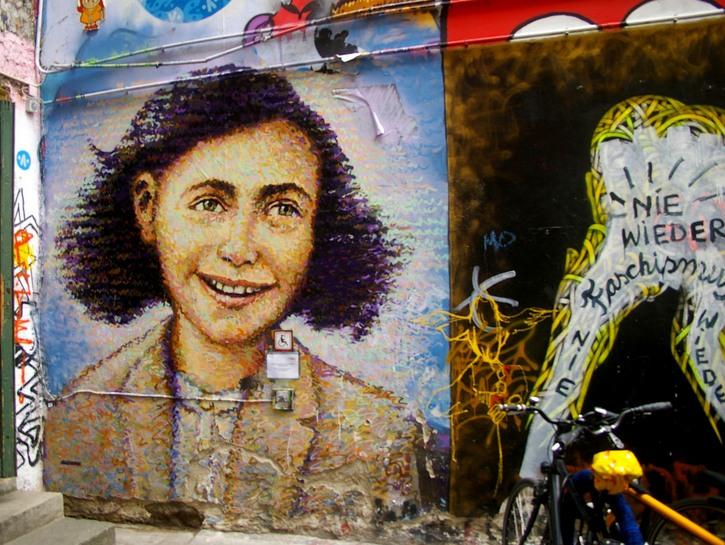 Portrait of Anne Frank, by Jimmy C., Berlin