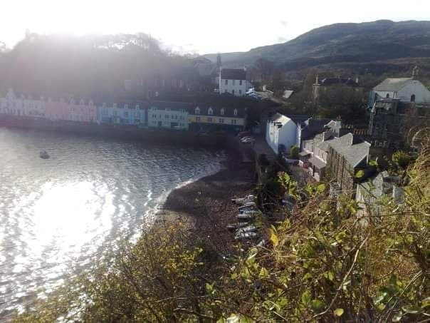 Portree, the main town on the Isle of Skye.