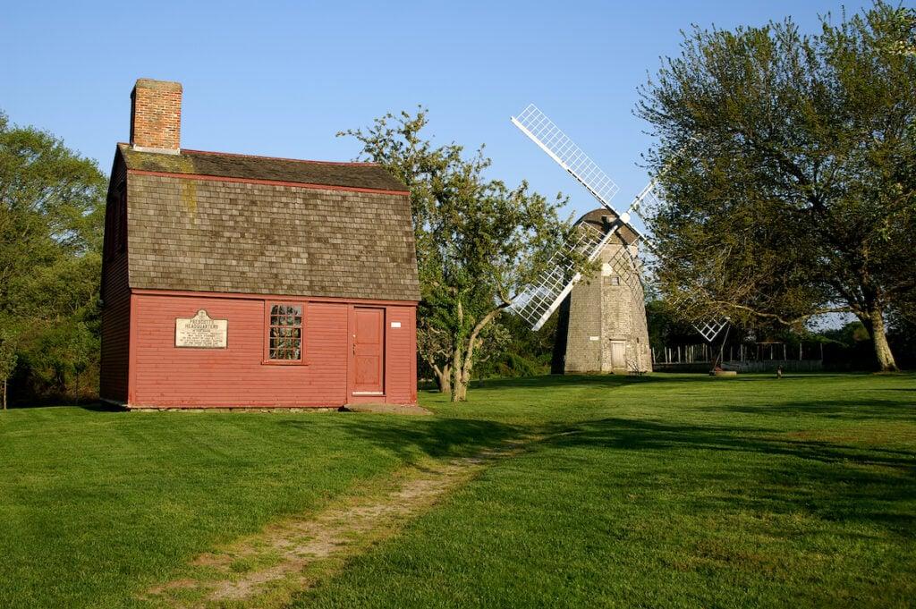 Prescott Farm in Middletown, Rhode Island.