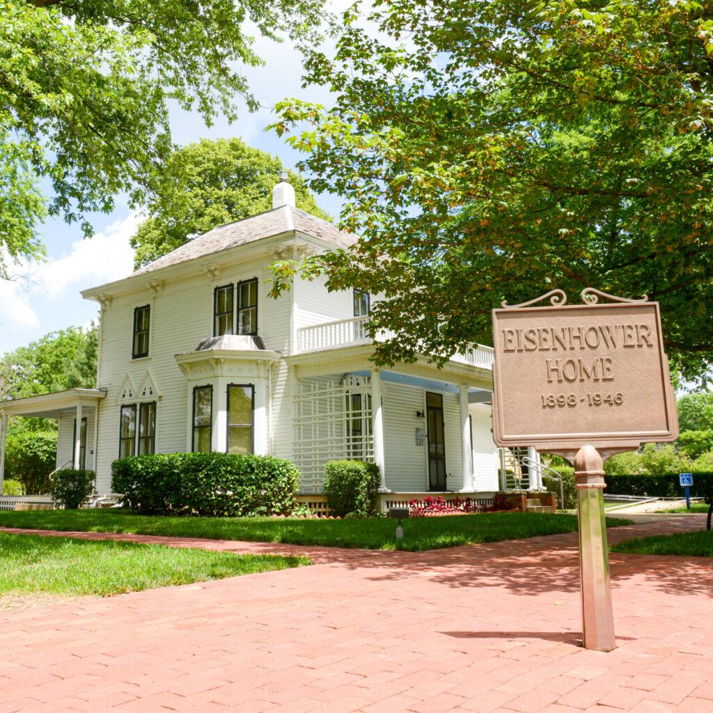 President Eisenhower's childhood home.