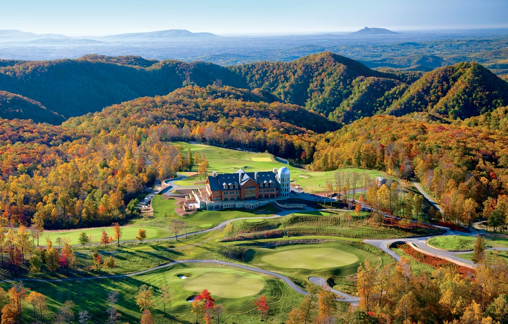 Primland Resort in Virginia is one of the top fly fishing destinations for couples
