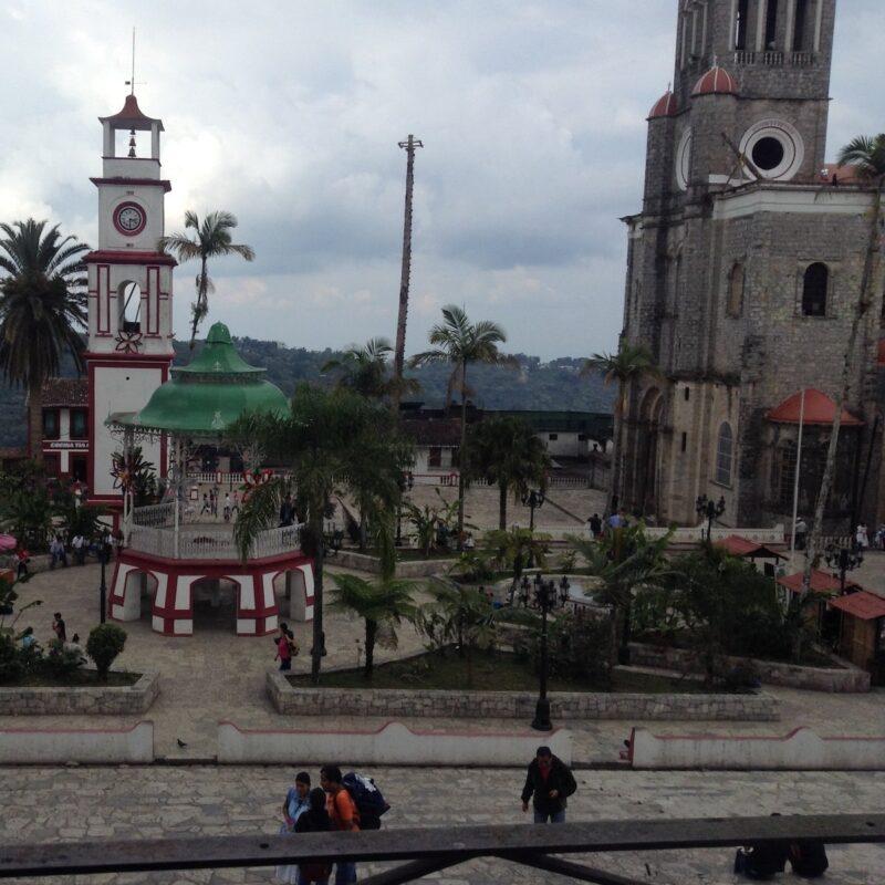Pueblo Magico, Cuetzalan Jardin.