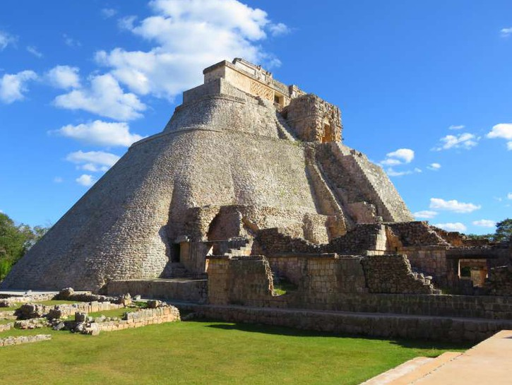 Pyramid of the Magician Uxmal Mexico