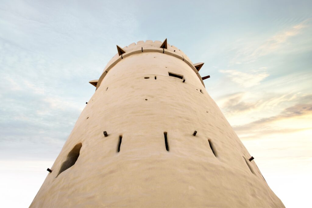 Qasr Al-Hosn in Abu Dhabi.