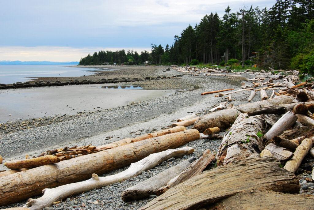 Qualicum Beach on Vancouver Island.