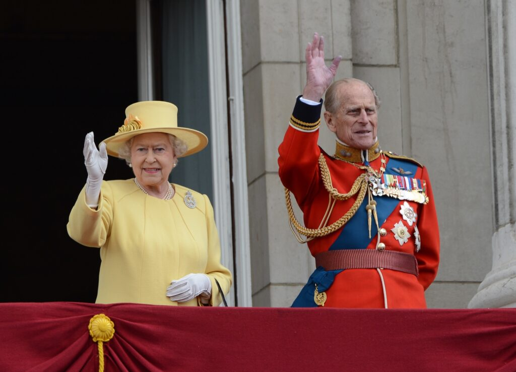 Queen Elizabeth II and the Duke of Edinburgh.