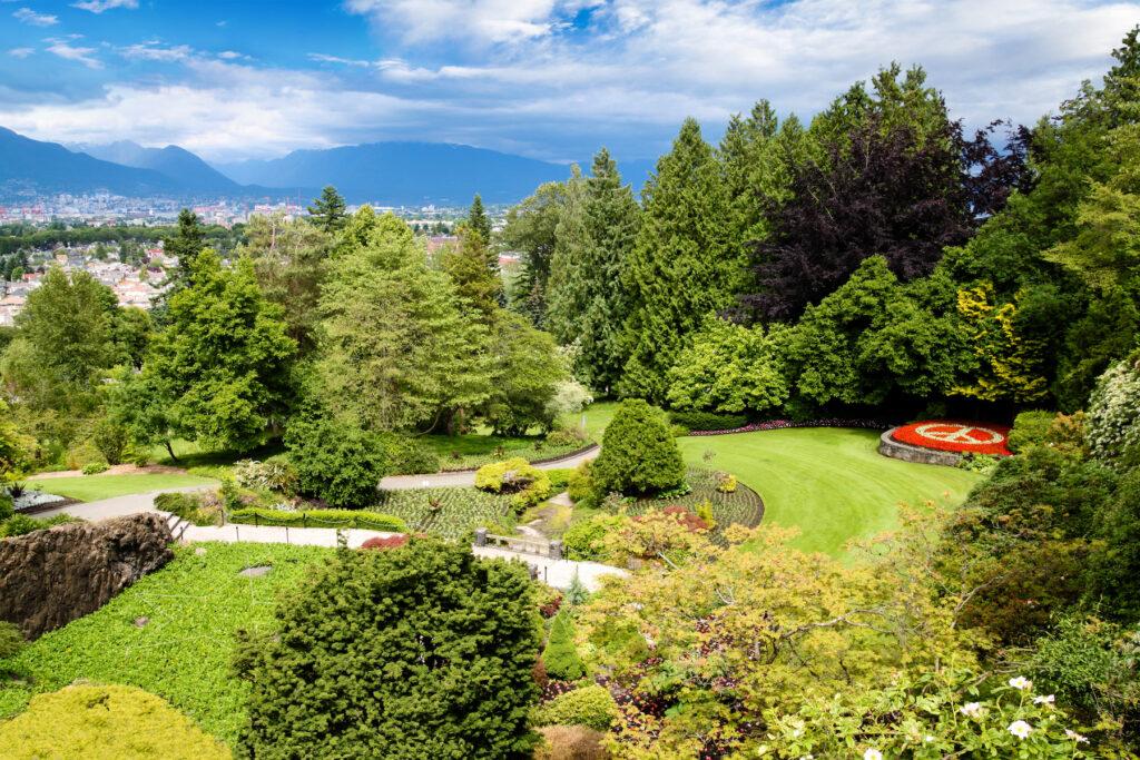 Queen Elizabeth Park in Vancouver.