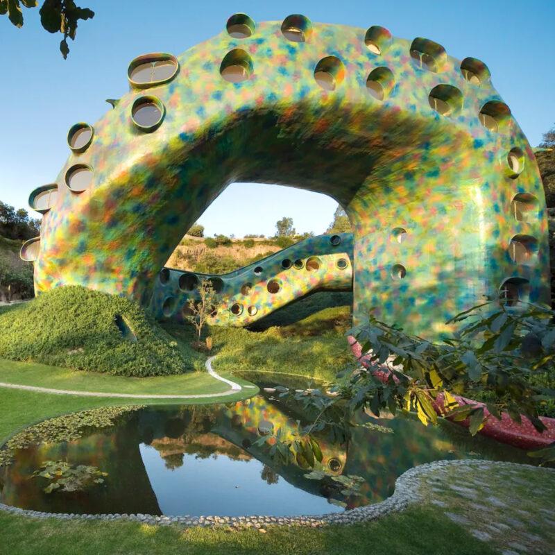 Quetzalcoatl's Nest, a unique Airbnb in Mexico City.