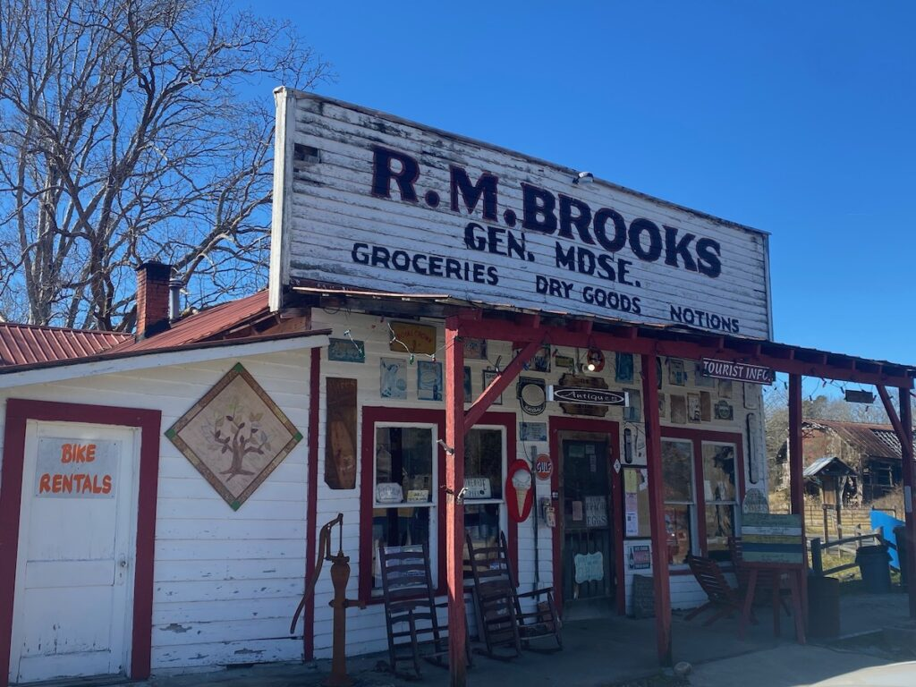 R.M. Brooks Store, Historic Rugby, Tennessee.
