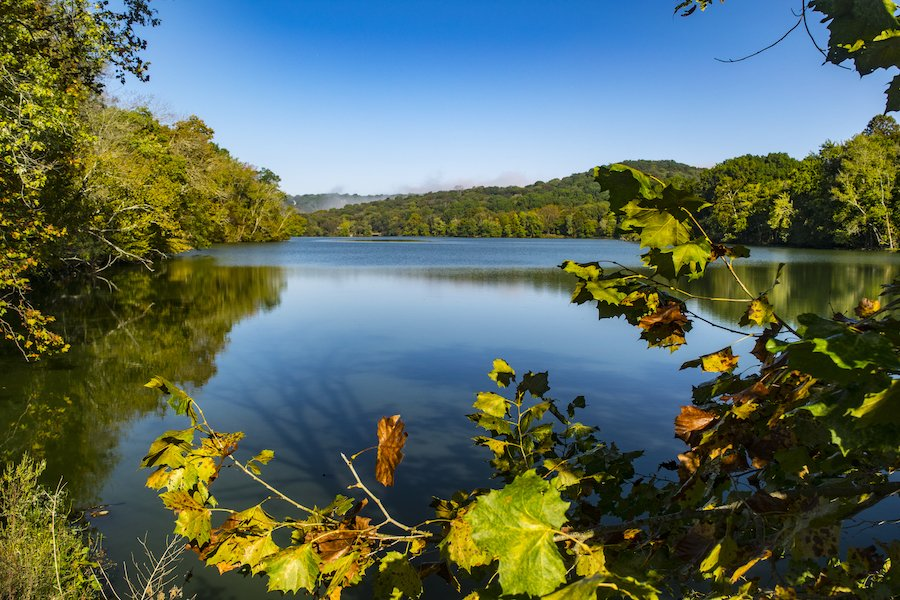Radnor Lake near Nashville, Tennessee.