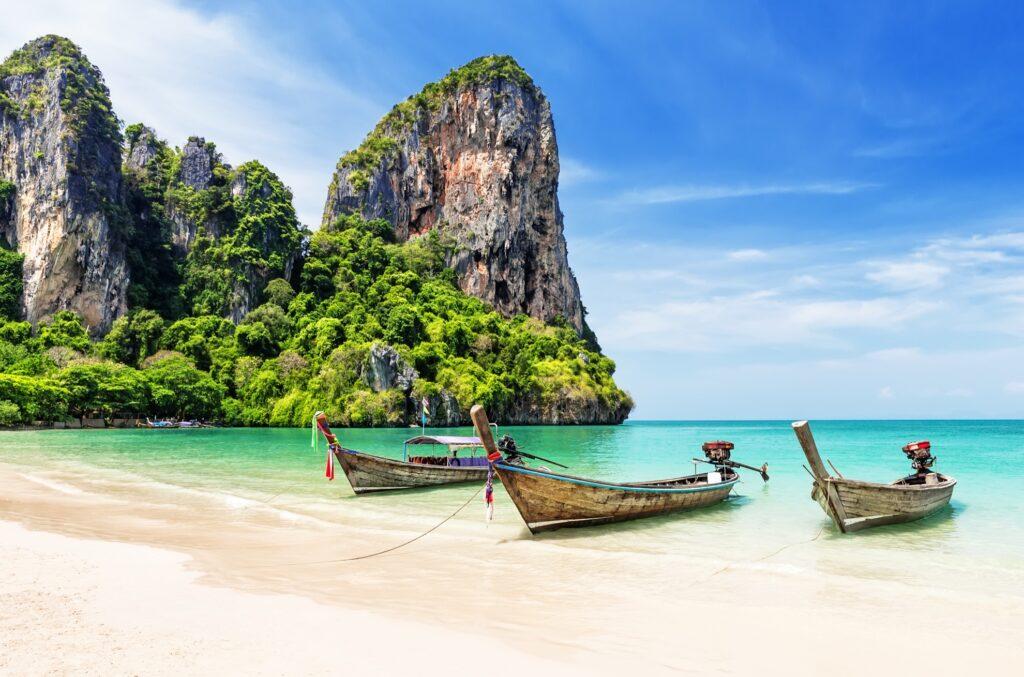 Railay Beach in Thailand.