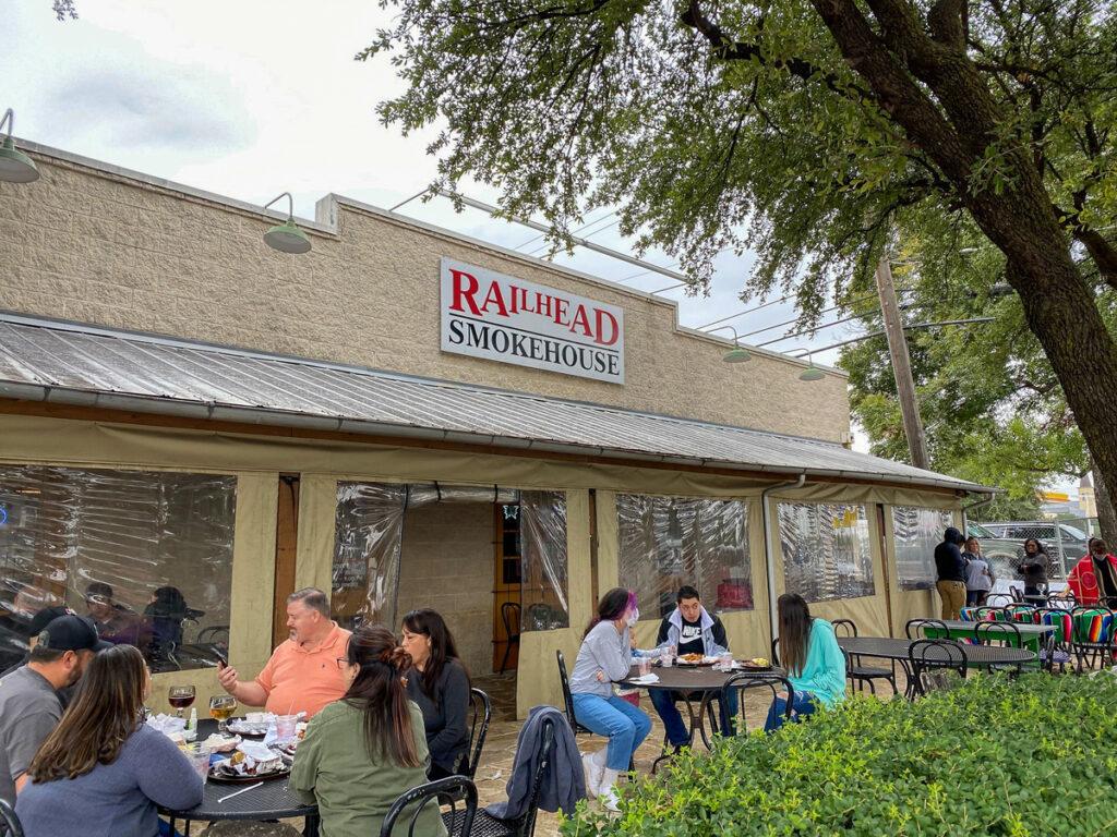 Railhead Smokehouse in Fort Worth, Texas.