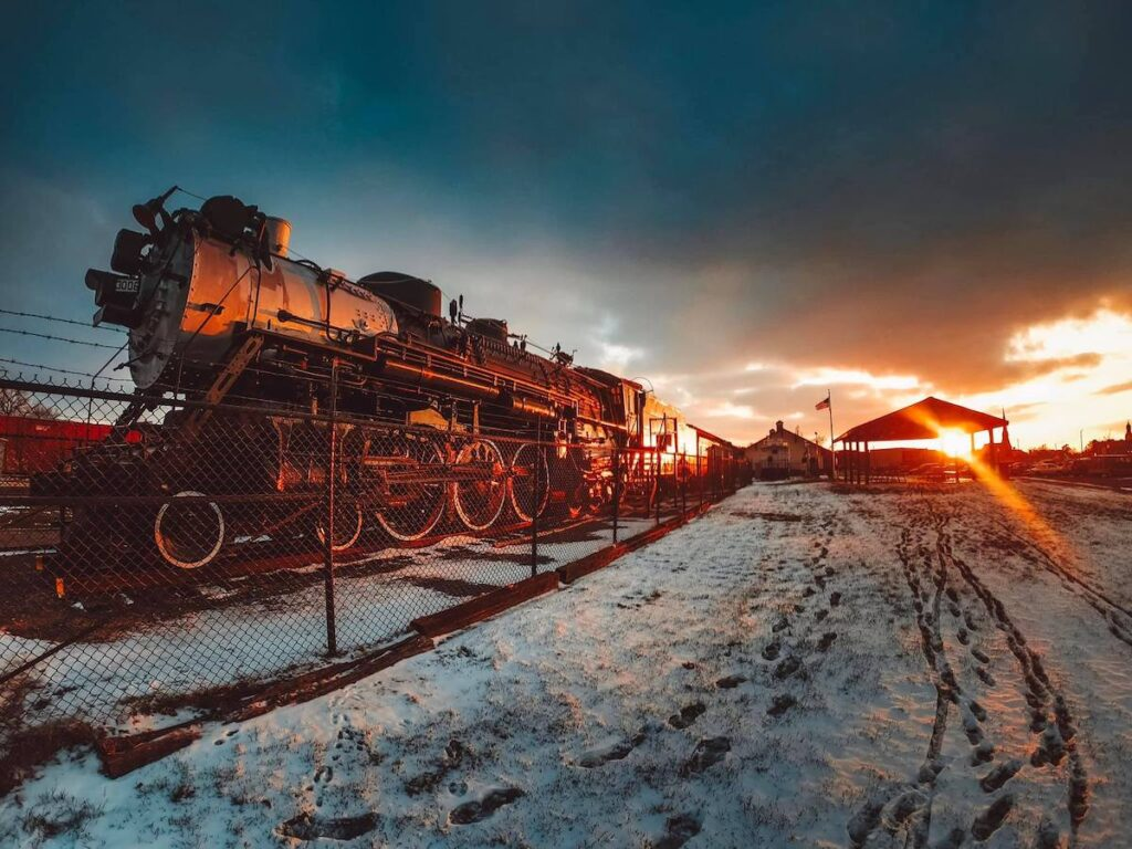 Railroad museum, Galesburg, Illinois.