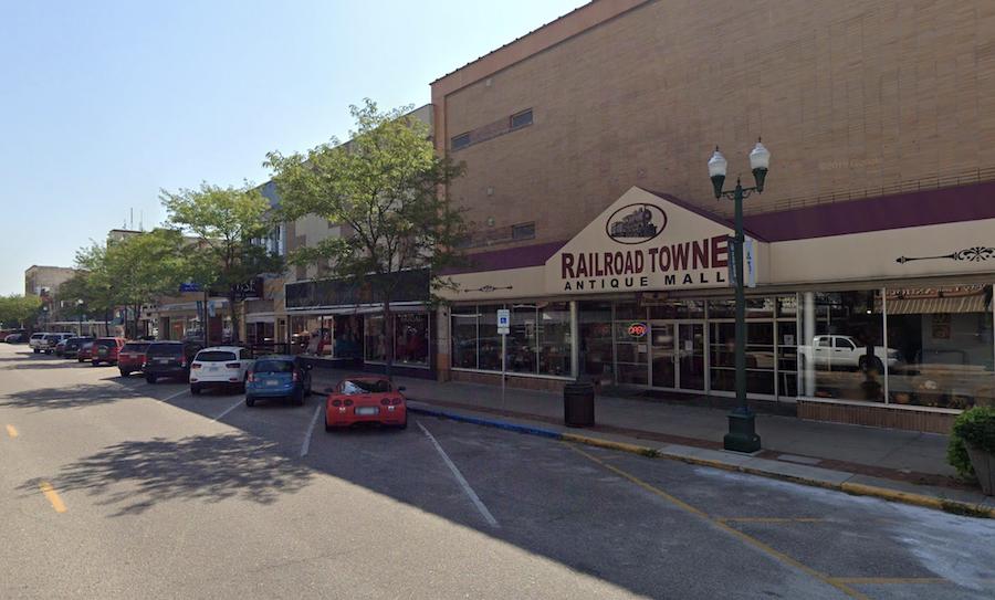 Railroad Towne Antique Mall in Grand Island's Railside District.