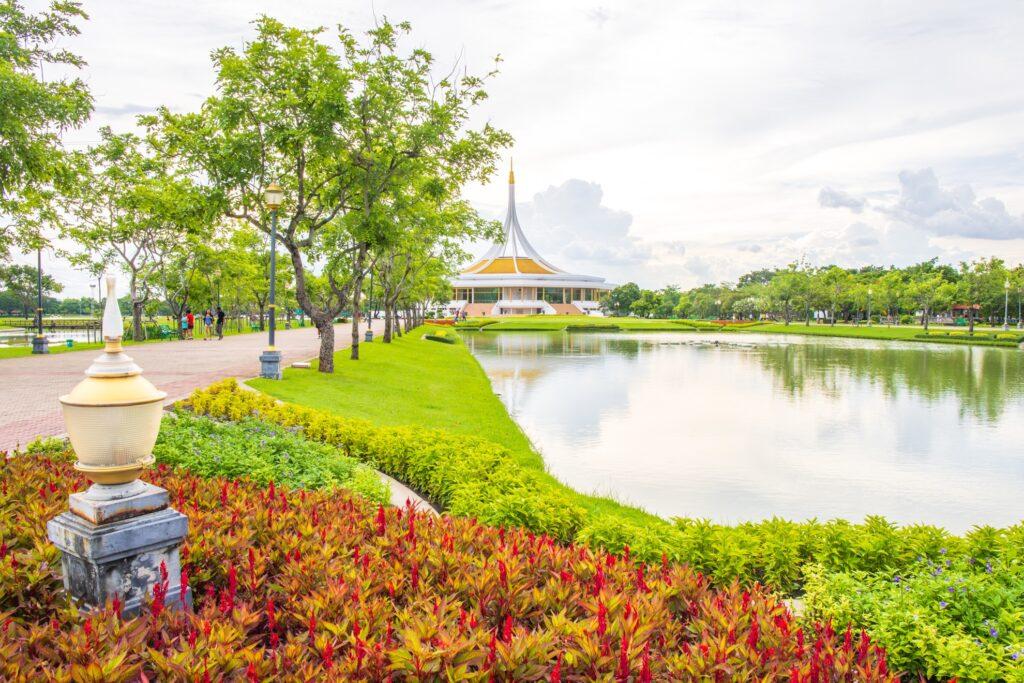 Rama Public Park in Ayutthaya.