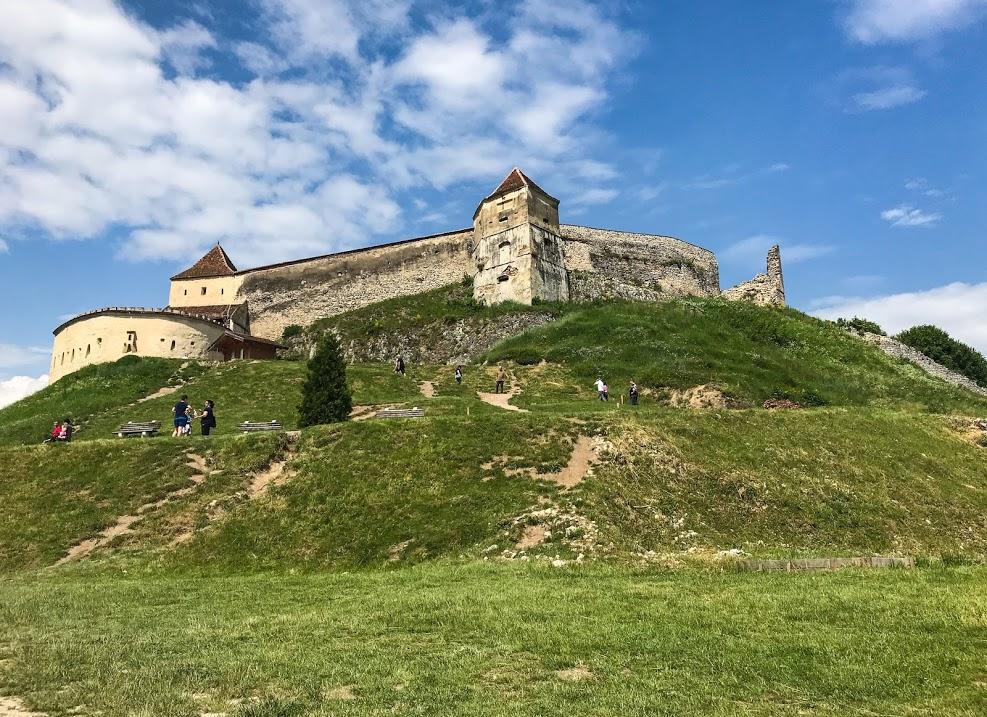 Rasnov Citadel in Transylvania.