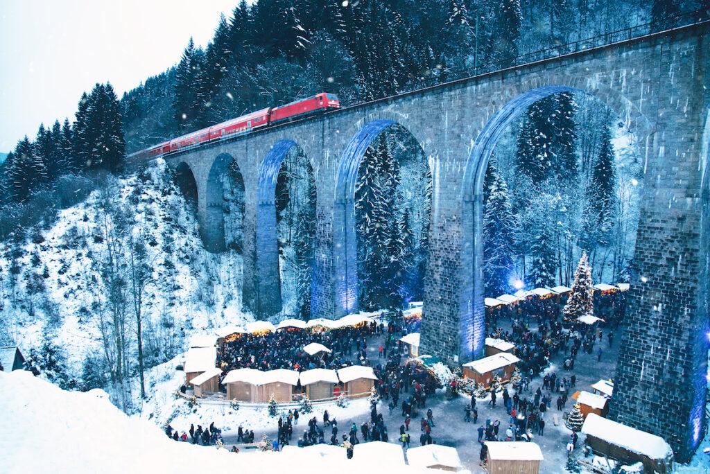 Ravenna Gorge Christmas Market in Breitnau-Hollsteig.