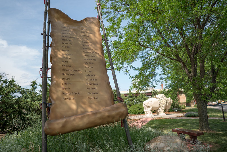Reconciliation Park in Mankato, Minnesota.