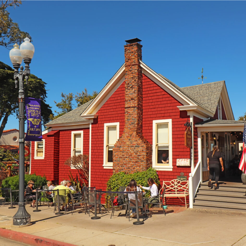 Red House Cafe in Pacific Grove.