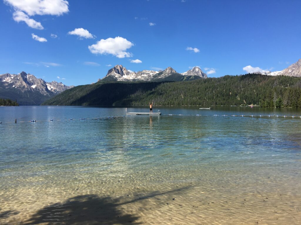 Redfish Lake in Idaho.