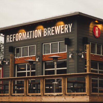 Reformation Brewery in Woodstock.