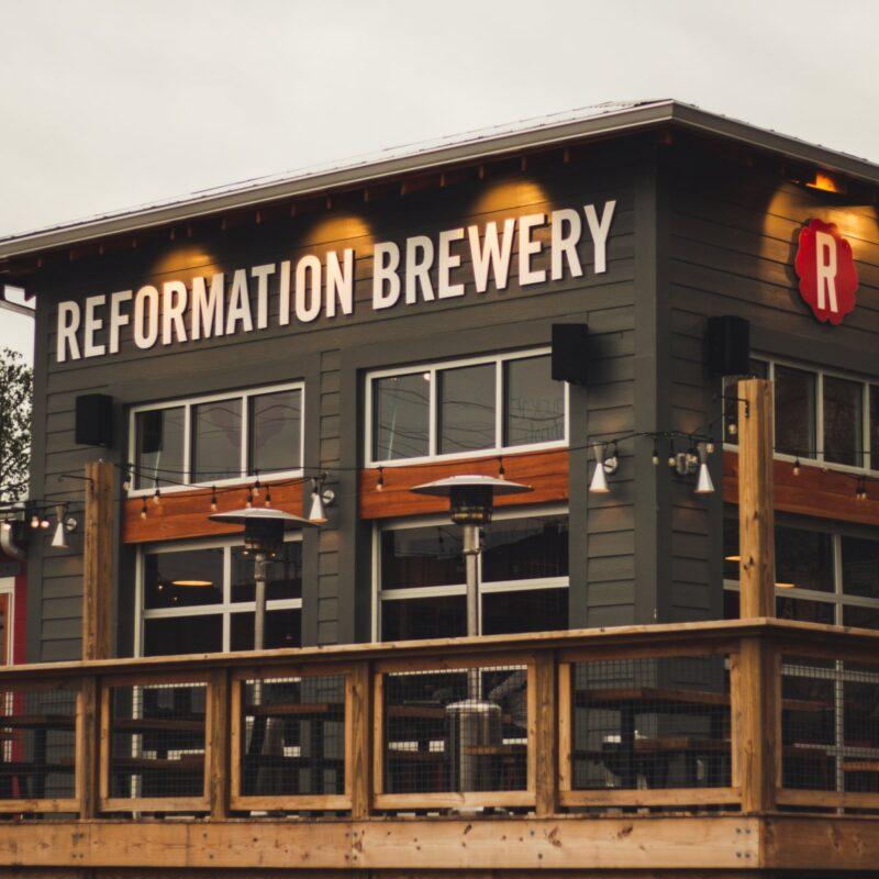 Reformation Brewery in Woodstock.