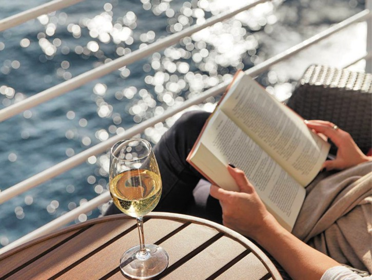 relaxing is just one reason you should book an Atlantic Crossing