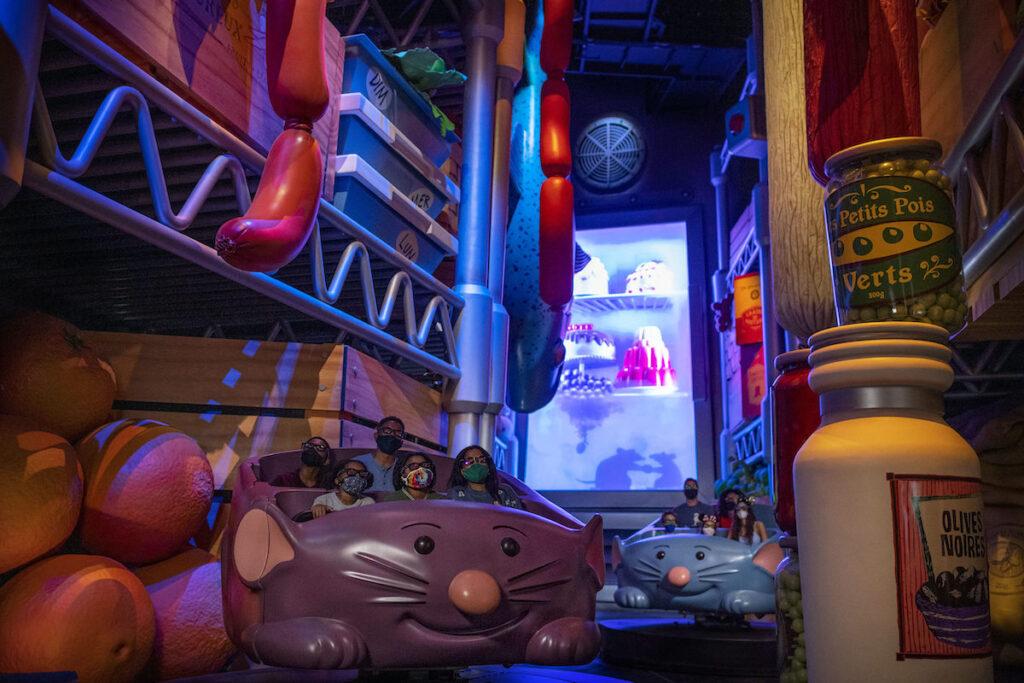 Remy's Ratatouille Adventure, Epcot.